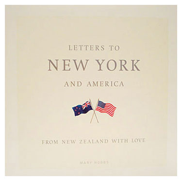Letters to New York and America